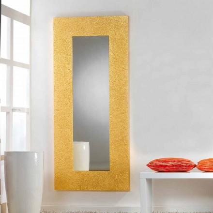 Gran piso de espejo / de pared modernos Tornillos diseño, 78x178 cm