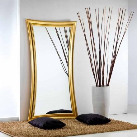 piso de espejo grande / moderno de la pared del corazón diseño, 110x197 cm