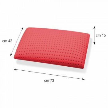 Almohada de ginseng con memoria perforada de 15 cm de altura Hecho en Italia - Calais