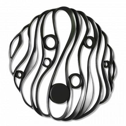 Instalación de pared Diseño moderno en cerámica perforada Made in Italy - Desta