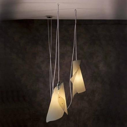 Lámpara de techo con 2 luces de diseño moderno modelo Chrome
