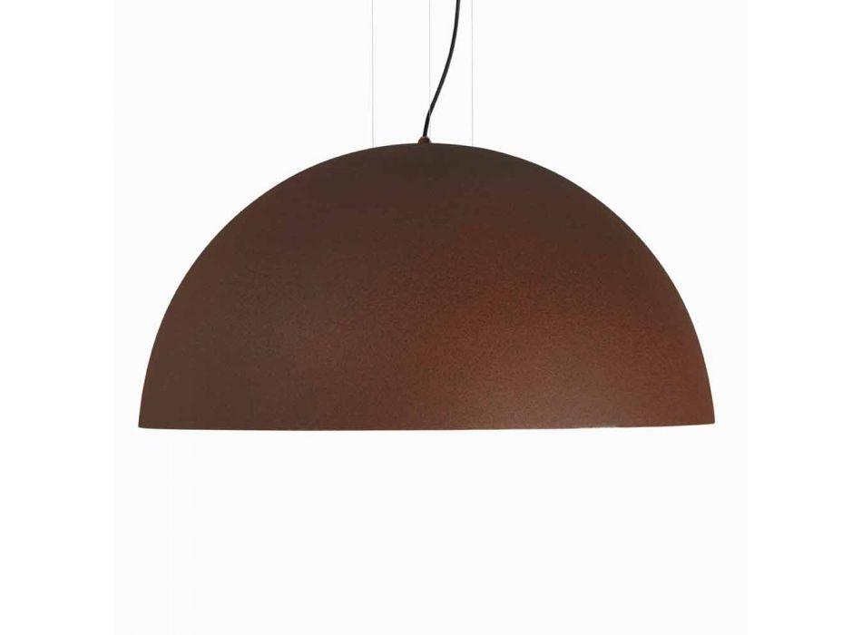 acero suspensión bicolor Lamp, Ø60xh.30xL.cavo100cm, Tara