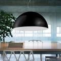 acero suspensión bicolor lámpara xH 30x 60 cm L.cavo100 Tara