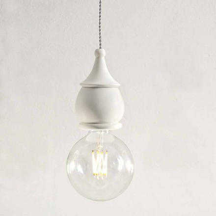 Lámpara de suspensión de cerámica Shabby Chic - Fate by Aldo Bernardi
