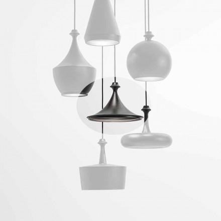 Lámpara Led de Suspensión Cerámica - Lustrini L1 Aldo Bernardi