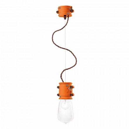 Lámpara colgante hecho a mano diseño urbano Edith Ferroluce