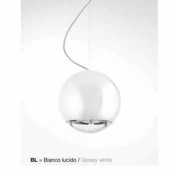 Lámpara colgante globo de cerámica Aldo Bernardi