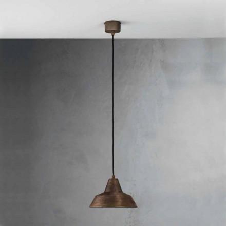Lámpara de suspensión hierro envejecido Virginia Il Fanale
