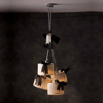 Lámpara colgante vintage de 4 luces Chanel
