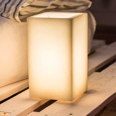 Lámpara Abat-jour en cera perfumada de diferentes colores Made in Italy - Dalila