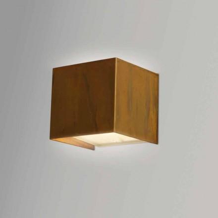 Lámpara de pared de diseño moderno latón 9x 9x H sp.9 Venus cm
