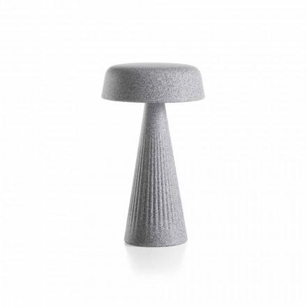 Lámpara de mesa con estructura en polietileno Made in Italy - Desmond