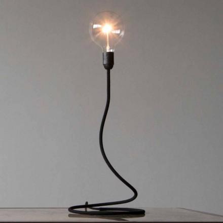 Lámpara de mesa con estructura de cobre Diseño moderno Made in Italy - Mínimo