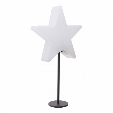 Lámpara de mesa de diseño moderno, estrella con o sin pedestal - Littlestar