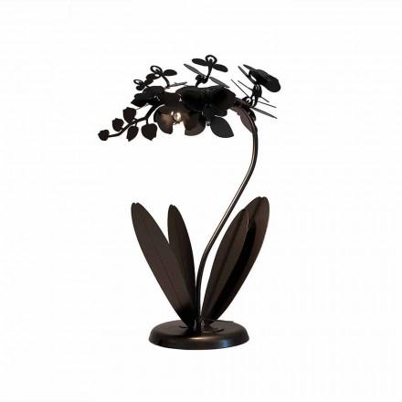 Lámpara de mesa de hierro de diseño moderno Made in Italy - Amorpha