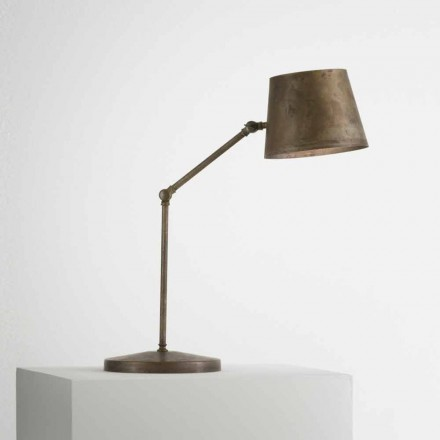 Lámpara de sobremesa industrial regulable Reporter Il Fanale