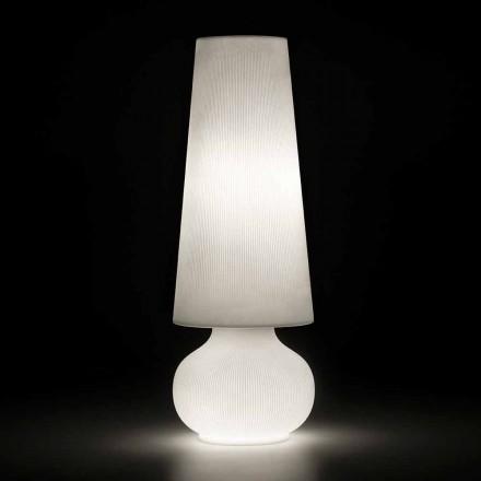 Lámpara de pie para exterior con estructura de polietileno Made in Italy - Desmond