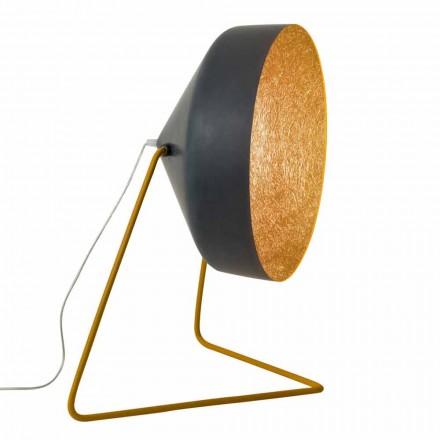 Lámpara de pie de diseño In-es.artdesign Cyrcus F Resina pizarra