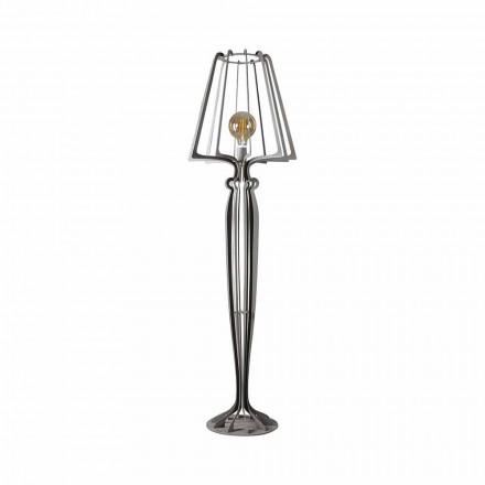 Lámpara de pie de hierro de diseño moderno Made in Italy - Giunone