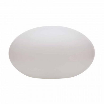 Lámpara de pie Led, Solar o E27 de diseño ovalado moderno en colores - Uovostar