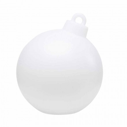 Lámpara de decoración para interiores o exteriores Bola de Navidad roja, blanca - Pallastar