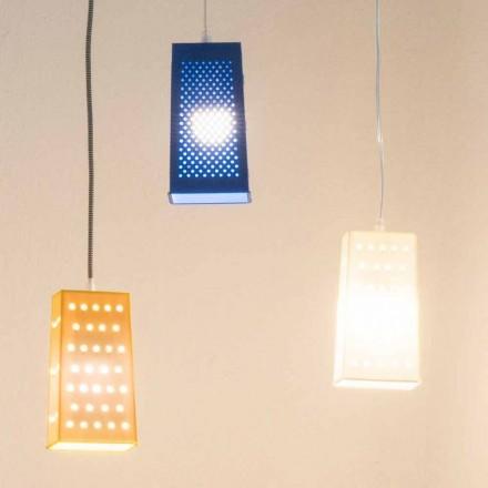 Lámpara laprene suspendida In-es.artdesign Cacio & Pepe 2 color