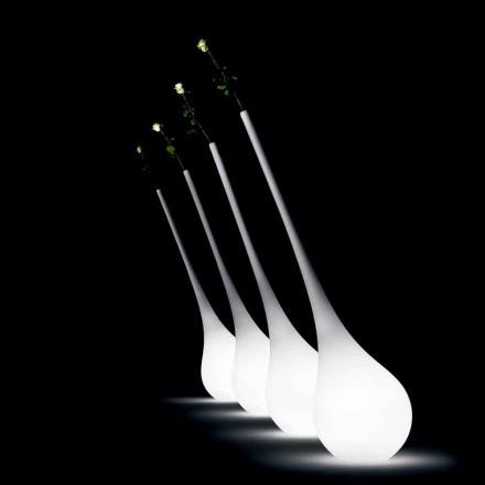 Lámpara de plástico de diseño con florero luminoso - Ampolla de Myyour