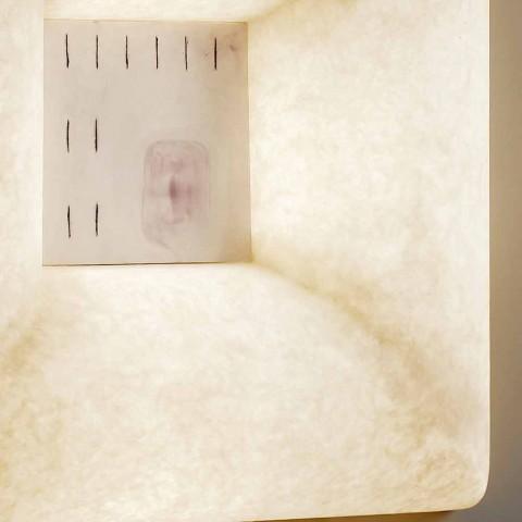 Aplique de nebulita blanco In-es.artdesign Dada Luna 1 diseño
