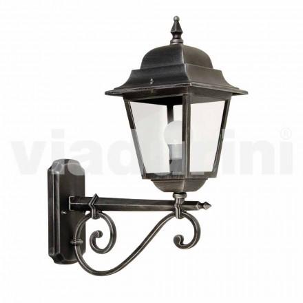 Lámpara de pared para exterior fabricada en aluminio, fabricada en Italia, Aquilina.