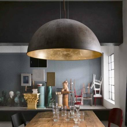 Lámpara de suspensión estilo rústico Ø80 Galileo Il Fanale