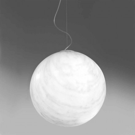 Lámpara de techo moderna en polietileno Slide Mineral