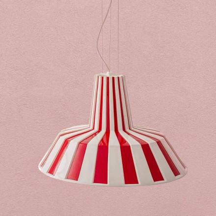 Lámpara colgante de cerámica de diseño moderno - Budin Aldo Bernardi