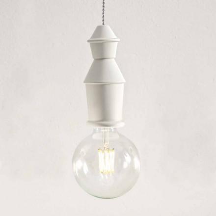 Lámpara colgante de cerámica Shabby Chic - Fate by Aldo Bernardi