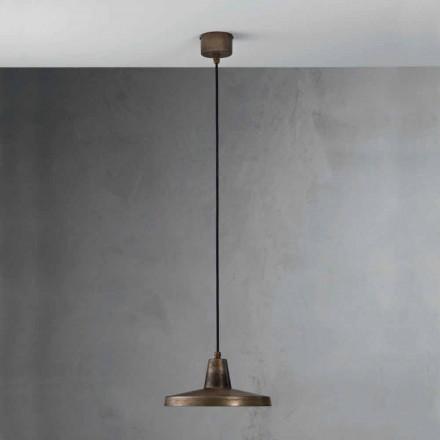 Lámpara de estilo industrial de hierro envejecido Monica