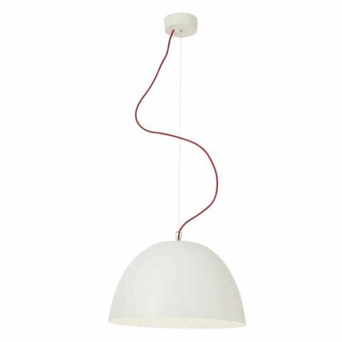 Araña de diseño moderno In-es.artdesign H2o en nebulita coloreada