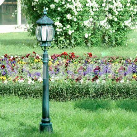 Farola para jardín hecha con aluminio fundido a presión, hecha en Italia, Anika