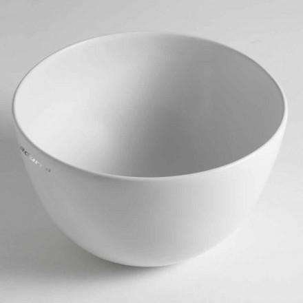 Lavabo sobre encimera de cerámica Domenico Hecho en Italia