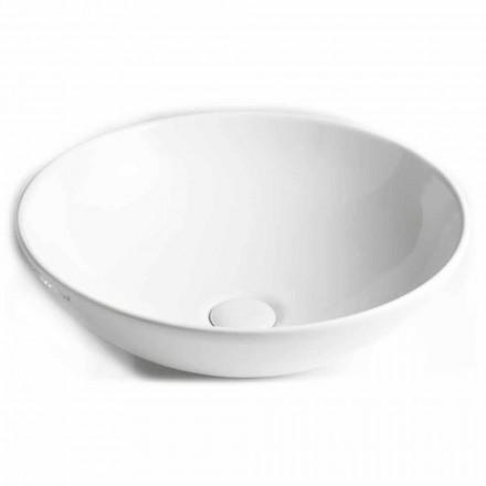 Lavabo sobre encimera de cerámica Made in Italy - Pimpi