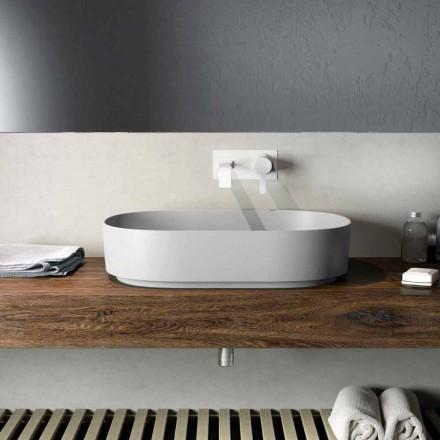 Lavabo sobre encimera de diseño hecho en Italia, Formicola