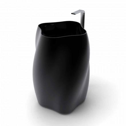 Lavabo de diseño moderno. Flor hecha en Italia.