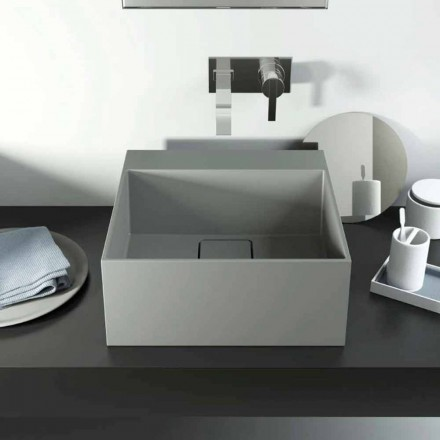 Lavabo sobre encimera de diseño producido en Italia, Lavis