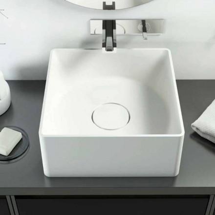 Lavabo de encimera moderno hecho en Italia, Forino