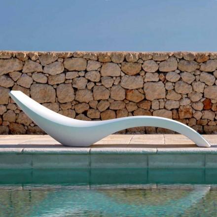 Chaise Longue de diseño moderno en polietileno de colores - Cloe by Myyour
