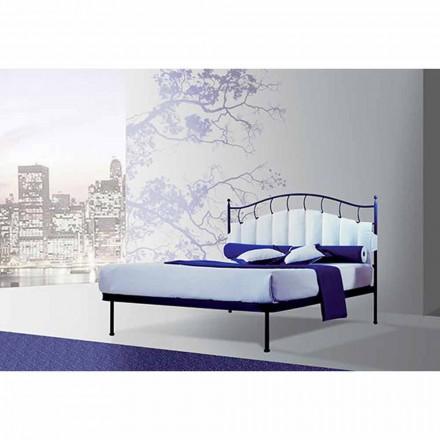 Una cama de plaza y media Hierro forjado Amatista