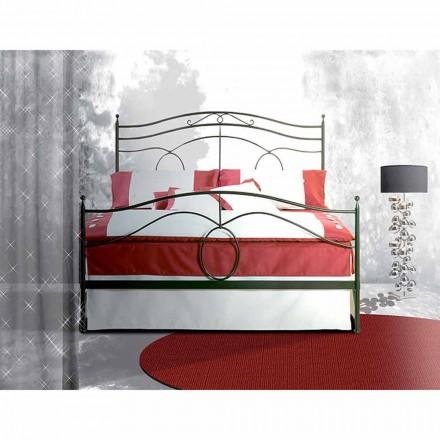 Una cama de plaza y media Hierro forjado Casiopea