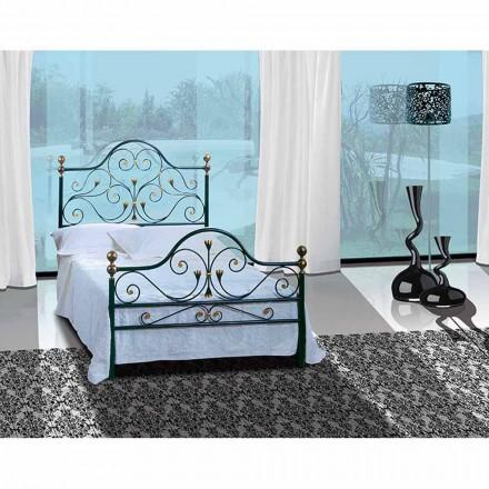 Una cama de plaza y media Hierro forjado Phoenix