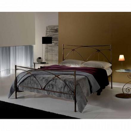 Una cama de plaza y media Hierro forjado Perséfone