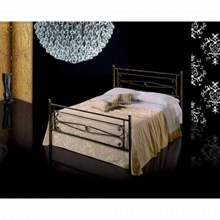 Una cama de plaza y media Hierro forjado Topaz