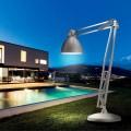 Leucos The Great JJ design lámpara de pie de exterior de aluminio