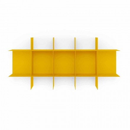 Librería de pared de diseño modular en metal de alta calidad - Roger